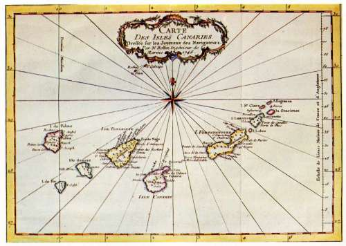IslasCanarias mapa antiguo