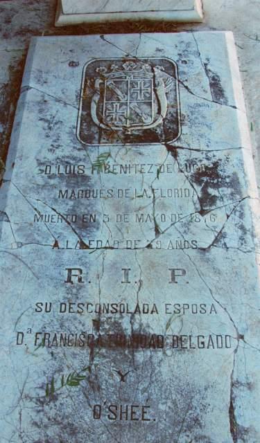 Tumba del Marqués de La Florida
