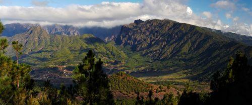 Caldera de Taburiente y Cumbre Nueva