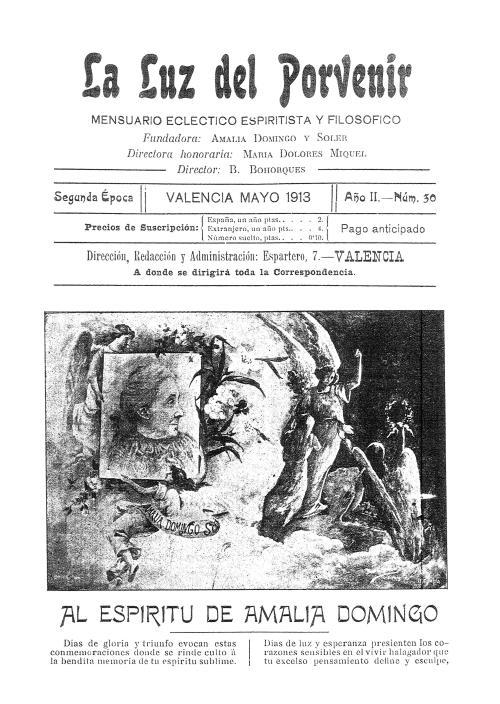 La Luz del Porvenir de Valencia nº 30 mayo 1913