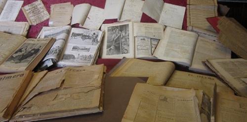 Periódicos y revistas antiguos