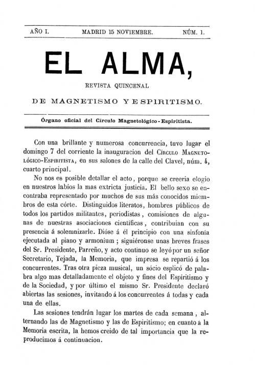 Revista El Alma