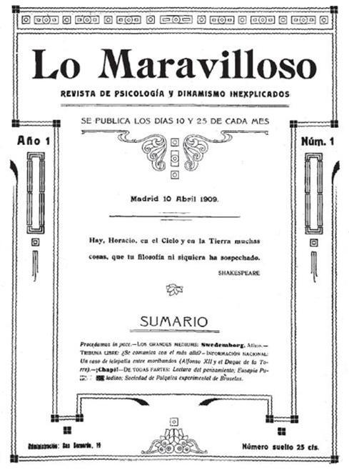 Revista Lo Maravilloso
