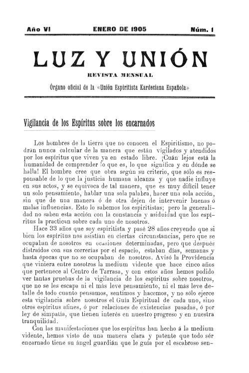 Revista Luz y Unión
