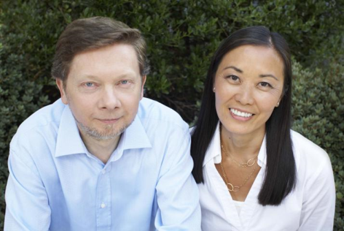 Eckhart Tolle y Kim Eng