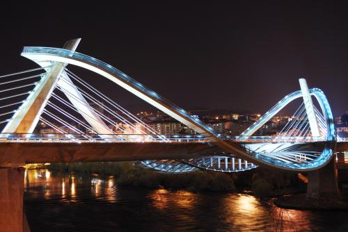 Puente sobre el Miño en Ourense