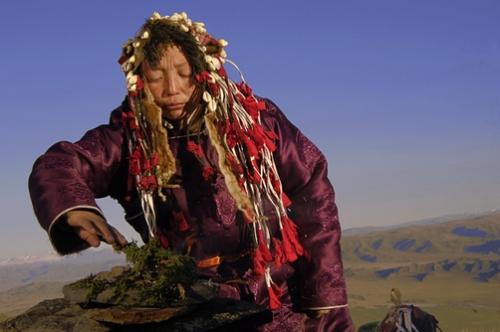 Chamana mongola