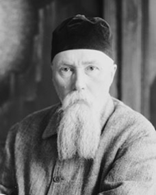 Retrato de Nicolás Roerich 02