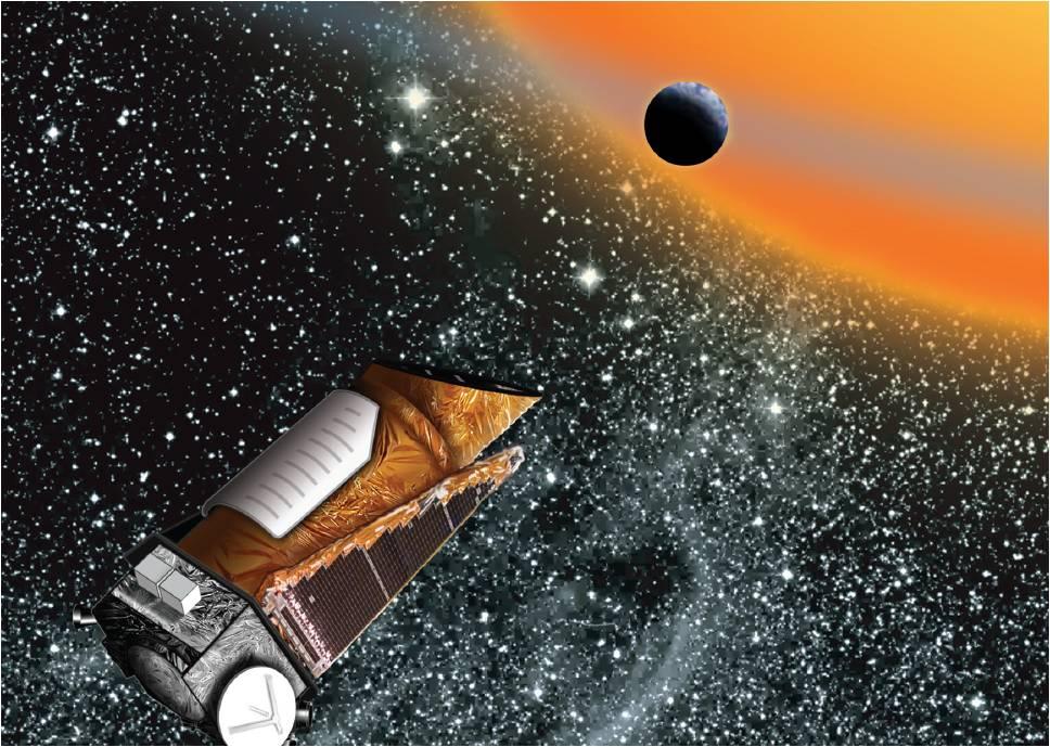 Resultado de imagen de kepler telescopio