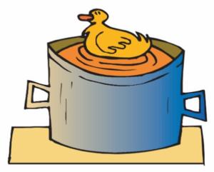 Pato a la cazuela