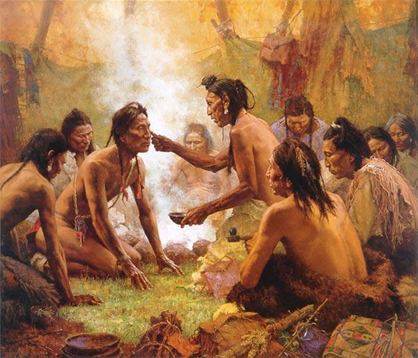 Resultado de imagen para rituales pieles rojas