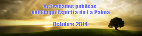 Cabecera programa de actiividades del GELP Octubre 2014