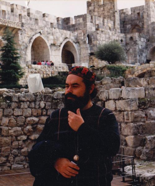 Jacobo Grinberg en Jerusalem