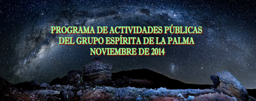 Cabecera programa noviembre 2014