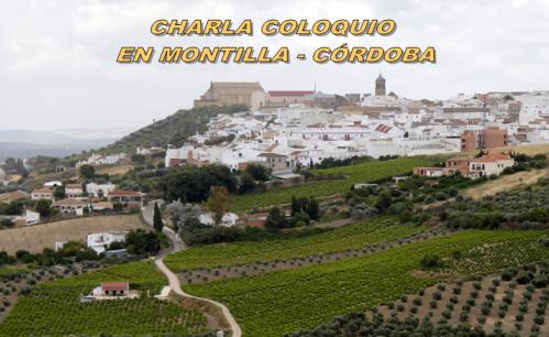 CHARLA COLOQUIO EN MONTILLA