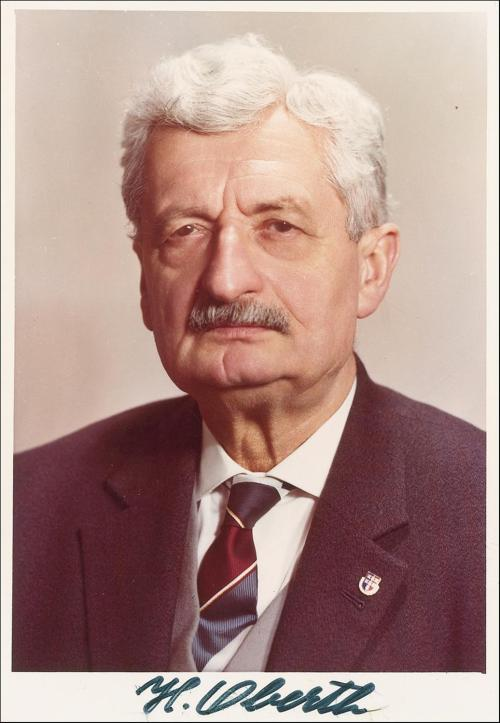 Profesor Hermann Oberth